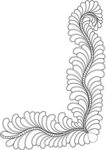 Ffmwr Corner Feather