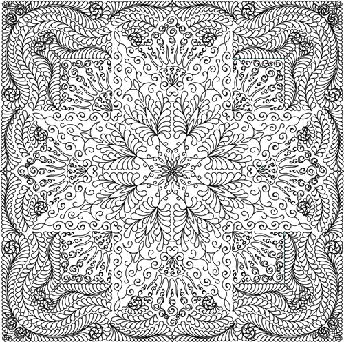 Glacier Star Quilting Pattern