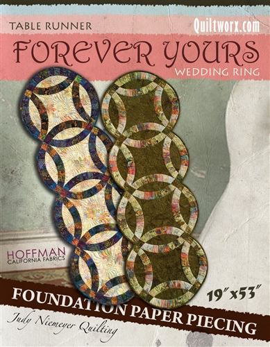 Forever Yours Table Runner Basic Pattern Discontinued